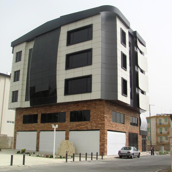 ساختمان اداری مهرشهر کرج